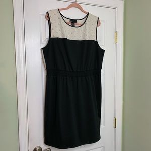 Black and White Layne Bryant Dress
